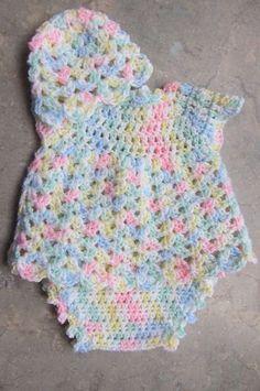 Free Crochet Baby Dress Patterns Unique Cool Crochet Patterns & Ideas for Babies Hative Of Fresh 40 Pictures Free Crochet Baby Dress Patterns Crochet Baby Dress Pattern, Baby Dress Patterns, Baby Clothes Patterns, Baby Girl Crochet, Newborn Crochet, Baby Knitting Patterns, Crochet Patterns, Hat Crochet, Crochet Ripple