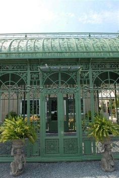 metal conservatory