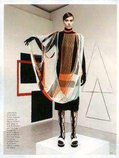 Set Design by Jill Nicholls for Vogue Spain April 2014 shot by Jason Kibbler.