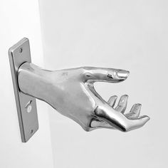Hand-le by NTP Design This is really weird, but cool silver