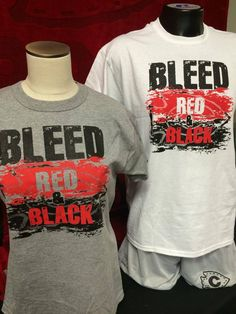 Do you bleed red and black?? We just got in a new shipment of these tees! $10
