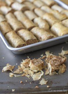 Dulces árabes, receta fácil