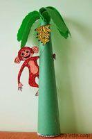 Monkey Tree craft