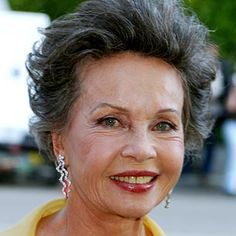 Leslie Caron, lovely at 81.