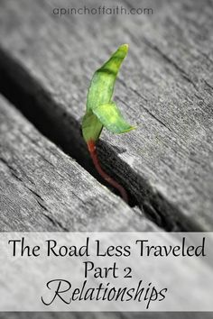 **Just Published** The second installment to our new series: The Road Less Traveled.