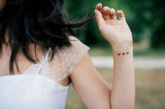 Uma grande seleção de Mini Tatuagens