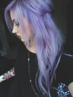 ashy purple hair - Google Search