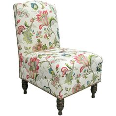Found it at Wayfair - Brissac Nail Button Side Chair  I like the fabric.