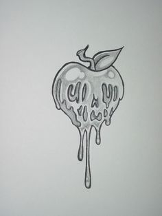 Poison Apple by ~shadowkeeper1327 on deviantART. Tattoo idea. Butt cheek?
