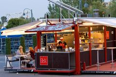 Müvbox Fast Food Shipping Container Restaurant