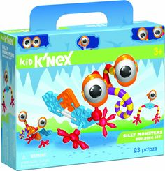 Tomy 85022 Kid K'nex Silly Monsters 23pc Building Set: Amazon.co.uk: Toys & Games