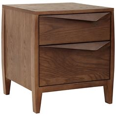Buy John Lewis Asuka 2-drawer Bedside Table Online at johnlewis.com