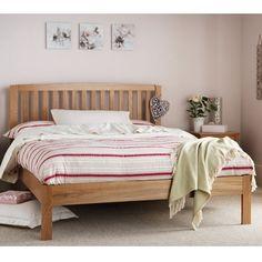 Grant Dark Wood and Copper Bed Frame Copper bed frame Copper