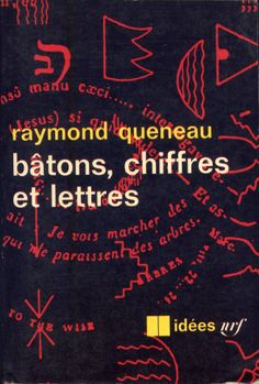 Idées no. 70 (literature), published by Gallimard, Paris, 1965. Photo-graphisme: Henry Cohen (no credit on cover)