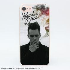 1419X Panic at the Disco Hard Transparent Case for iPhone 7 7 Plus 6 6S Plus 5 5S SE 5C 4 4S