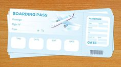 Boarding Pass | PaperZip Teaching Resources
