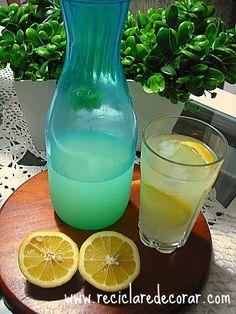 Receita - Suco Limão siciliano e capim cidreira