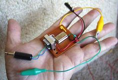 Chapter 4: Radio -- Build a very simple AM radio transmitter