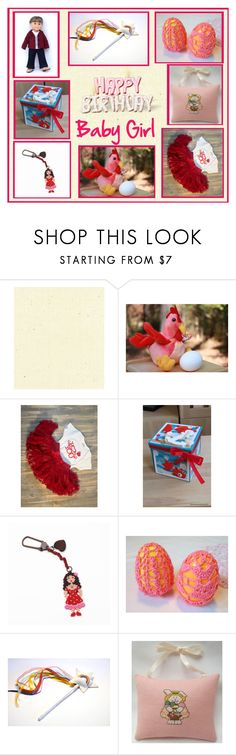 """""""Etsy, Happy Birthday Baby Girl"""" by seadbeady ❤ liked on Polyvore featuring interior, interiors, interior design, home, home decor and interior decorating"""