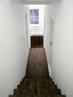 Een strakke renovatie in een Londens appartement door KHBT architecten / www.woonblog.be
