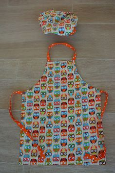 Patroon keukenschort voor kinderen