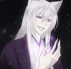 Photo of ****Tomoe***** for fans of Kamisama Hajimemashita 36627313 Kamisama Kiss, Tomoe, I Love Anime, Me Me Me Anime, Anime Guys, Guys With White Hair, Fox Man, Pirates Cove, Handsome Anime