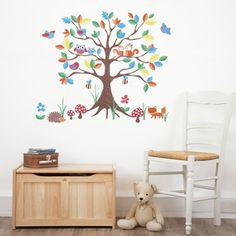 Woodland Tree Stickers, Room Decorations and Pictures, Nursery
