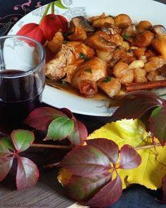 Πάστα φλώρα... η νηστίσιμη νοστιμιά με λίγη ζάχαρη | Tante Kiki Kung Pao Chicken, Chicken Wings, Shrimp, Meat, Ethnic Recipes, Food, Cow, Food Food, Essen
