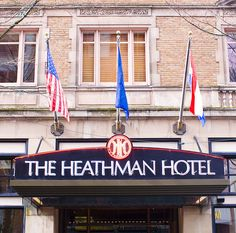Christian's hotel of choice in Portland. The Heathman. [Fifty Shades Trilogy]