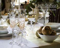Svatební skleničky Champagne, Tableware, Dinnerware, Tablewares, Dishes, Place Settings