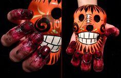Happy Halloween #1 Zombie Nägel
