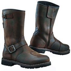 TCX Fuel Waterproof Men's Street Motorcycle Boots Vintage Brown / US 9 / Size 43