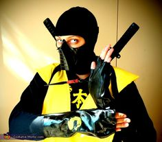 Homemade Scorpion Costume - Halloween Costume Contest via @costumeworks