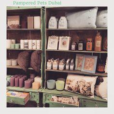 Our lil Homeware corner. Pampered Pets Dubai Marina