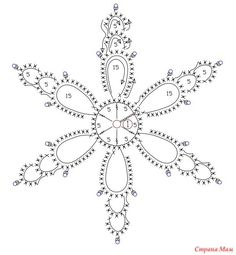Crochet snowflakes, free crochet patterns Crochet snowflakes, free crochet patterns Always wanted to be able to knit, although uncertain where do you start? Crochet Snowflake Pattern, Crochet Stars, Christmas Crochet Patterns, Crochet Snowflakes, Thread Crochet, Crochet Diagram, Crochet Motif, Crochet Designs, Crochet Doilies