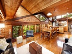 Beautiful wood working in this house. Wouldn't mind one bit of this all to myself.