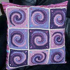Ravelry: Granny Square TWISTER crochet pattern PDF ebook pattern by Paula Matos