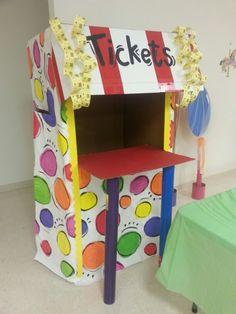 Vbs ticket booth I made