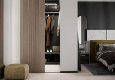 "Apartment in Kharkiv ZHK ""Dom na Sokol'nikakh"" - Dezign Ark (Beta) Home Room Design, Dream Home Design, Living Room Tv Unit Designs, Bathroom Design Luxury, Cool House Designs, Interior Design Services, Modern Room, Apartment Design, Houses"