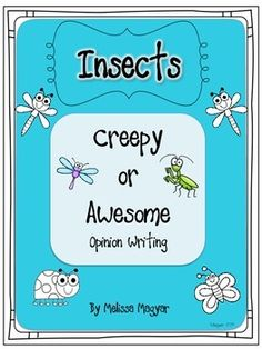 emergency sub plans Here are a couple of pages to help your first graders with opinion writing on the topic of insects. It is part of a larger unit: Insects - A differentiated, brai Writing Mentor Texts, Writing Lessons, Writing Help, Teaching Writing, Opinion Essay, Fact And Opinion, Opinion Writing, 1st Grade Writing, First Grade Reading
