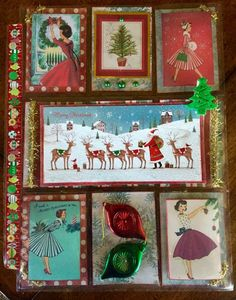 Pocket Letters, Advent Calendar, Christmas Ornaments, Holiday Decor, Frame, Picture Frame, Advent Calenders, Christmas Jewelry, Christmas Decorations
