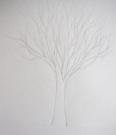 COMMENT DESSINER UN ARBRE AU CRAYON : TECHNIQUE SIMPLE | Apprendre à dessiner avec Dessin Création Tree Sketches, Drawings, Diy, Inspiration, Design, Simple, Poster, Photos, Blog