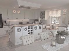 A Startling Fact about Inspiring French Cottage Kitchen Ideas Uncovered – homedecorsdesign Cottage Kitchens, Home Kitchens, Home Decor Kitchen, Country Kitchen, Kitchen Ideas, Living Room Designs, Living Room Decor, Home Furnishings, Kitchen Remodel