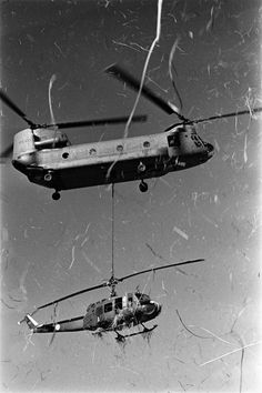 Like my father says, you'll never forget the sound of a Huey...EVER.