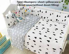 42.80$  Watch here - http://alifmp.worldwells.pw/go.php?t=32623523823 - Discount! 6/7pcs baby crib bedding set cartoon cot bedding set newborn baby bed set ,Duvet Cover,120*60/120*70cm