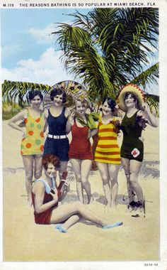 Why bathing is so popular in Miami Beach (1930). | Florida Memory