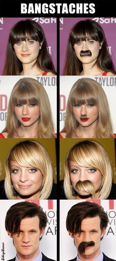 Taylor swift looks like hitler! And I don't even have anything to say about Matt Smith!
