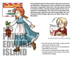 Canadian Provinces and Territories by Ctcsherry Canada Funny, Capital Of Canada, Hetalia Fanart, Manga List, Canadian History, Online Anime, Prince Edward Island, Anime Characters, Fictional Characters