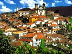 Ouro Preto is a historic former mining town in mountains of Minas Gerais, where Cheese Buns have been made since the 1700s.