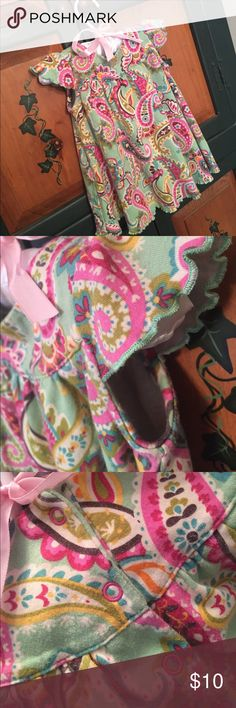 Vera Bradley Baby 6-9mos So cute.  Baby dress for Mother's Day. All cotton Vera Bradley Dresses Casual